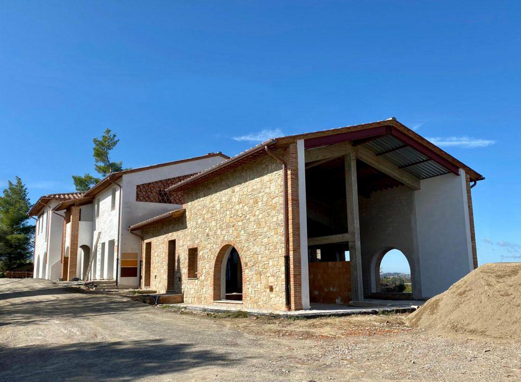 SPERETO TUSCANY Apartments & Villas - Construction Phase
